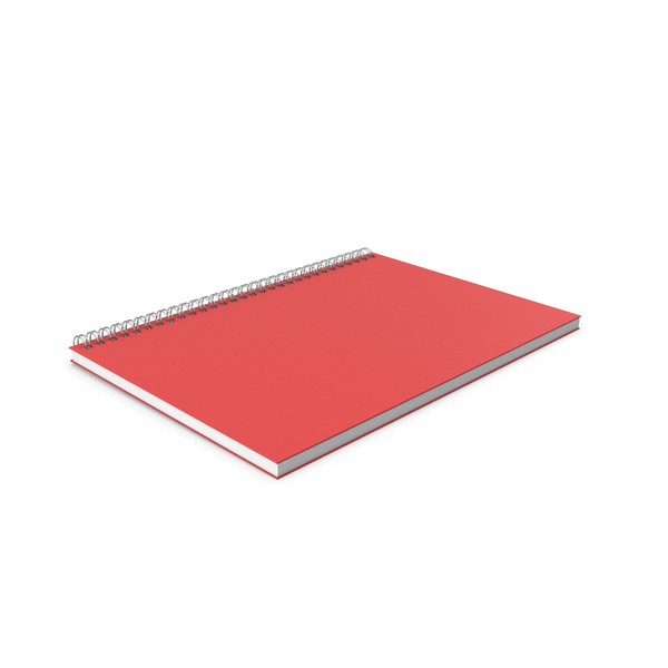 Notebook: Red NotePad PNG & PSD Images