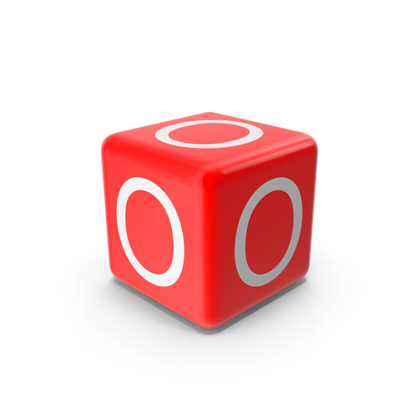Red O Block Object