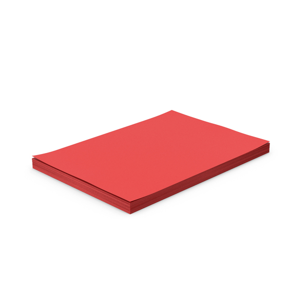 Trimmer: Red Paper Stack PNG & PSD Images