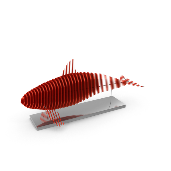 Red Parametric Decor Killer Whale PNG & PSD Images