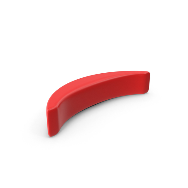 Red Parenthesis Symbol Object