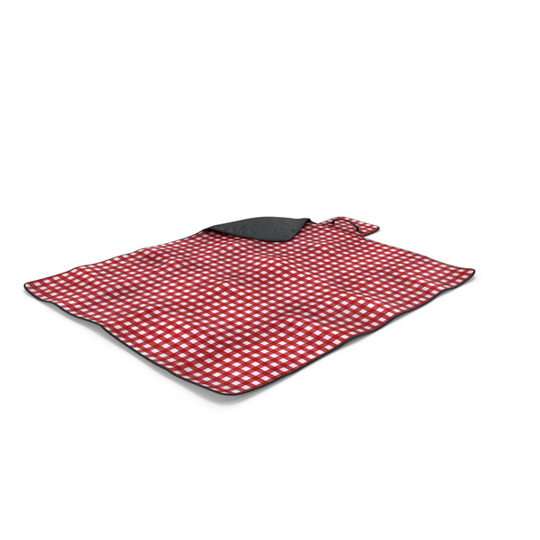 Red Picnic Blanket Object