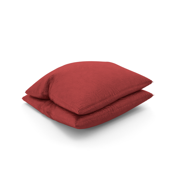Red Pillows PNG & PSD Images