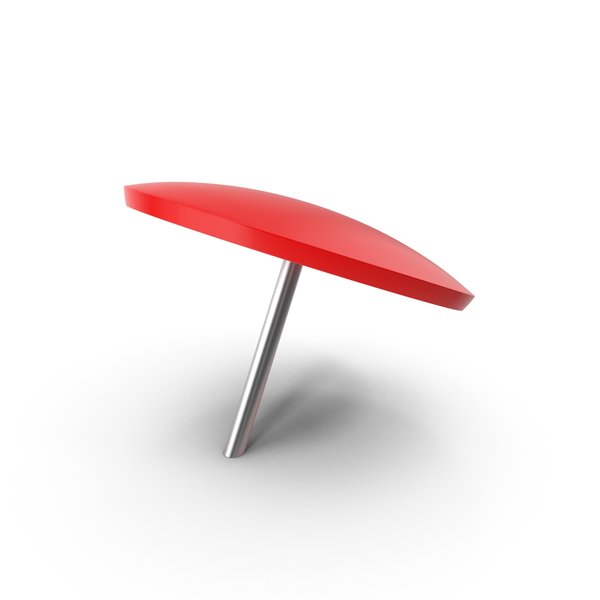 Red Push Pin PNG & PSD Images