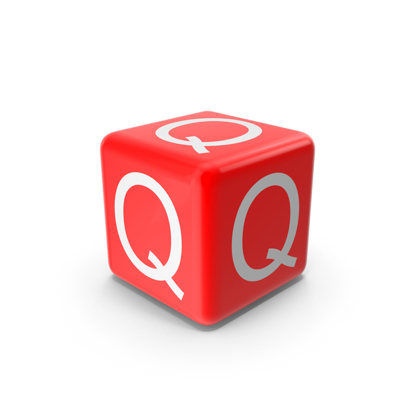 Red Q Block Object