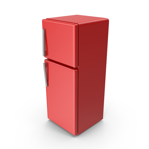 Red Refrigerator PNG & PSD Images