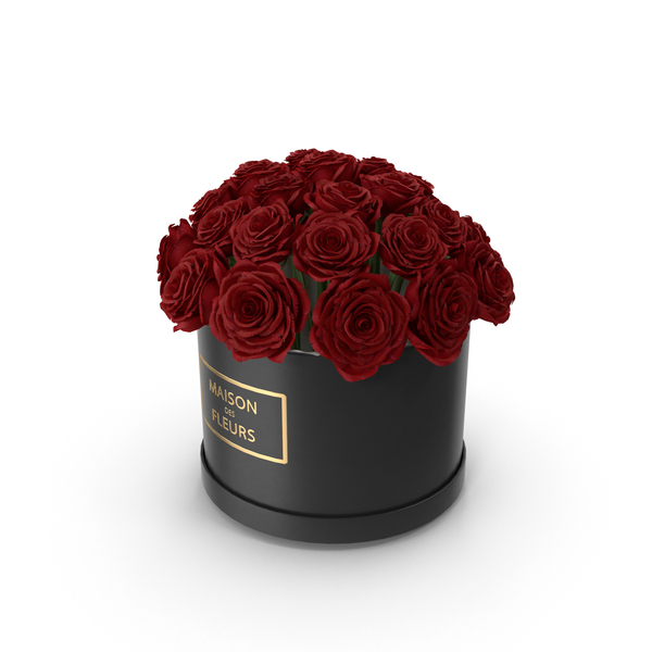 Rose: Red Roses Box PNG & PSD Images