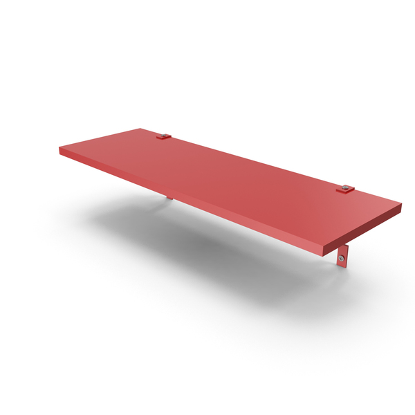 Red Shelf PNG & PSD Images