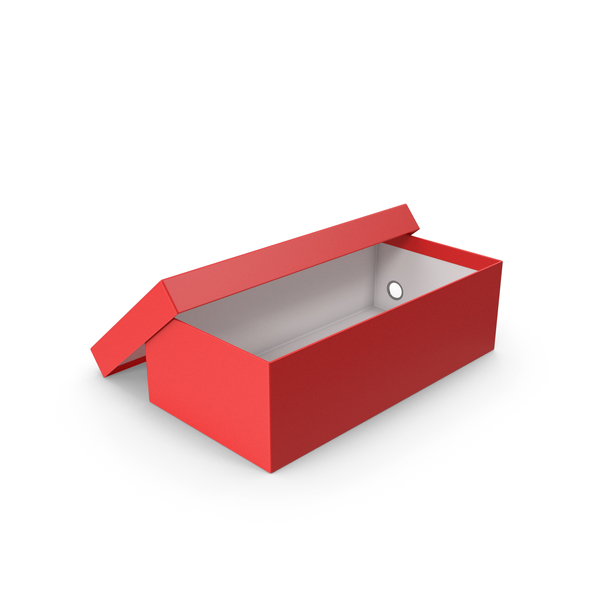 Red Shoe Box Open PNG & PSD Images