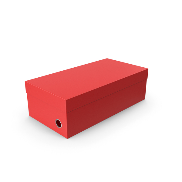 Red Shoe Box PNG & PSD Images