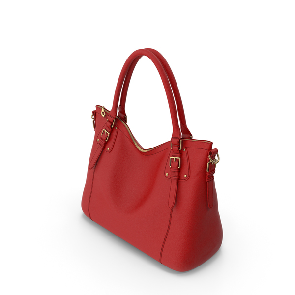 Red  Shoulder Bag PNG & PSD Images