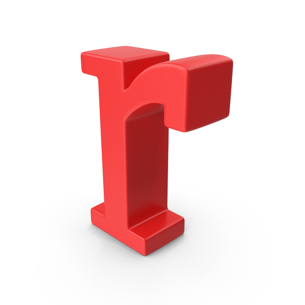 Red Small Letter R PNG & PSD Images