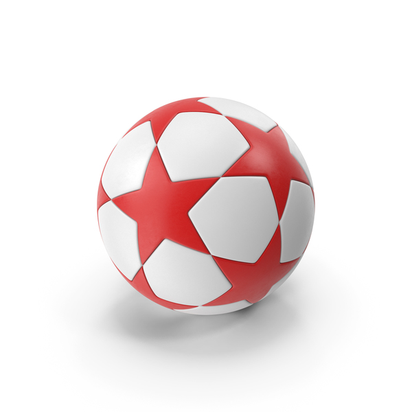 Red Soccer Ball PNG & PSD Images