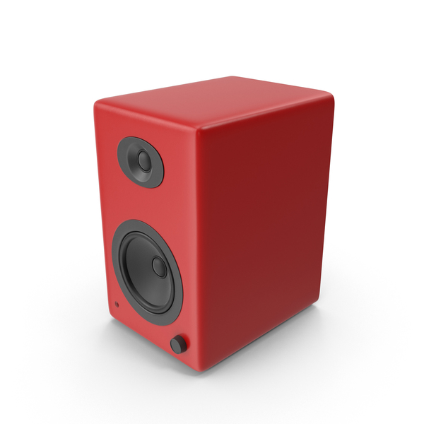 Red Speaker PNG & PSD Images