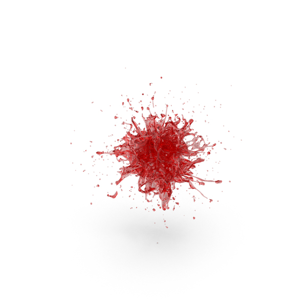 Red Splash PNG & PSD Images