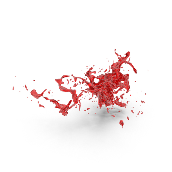 Red Splash Effect PNG & PSD Images