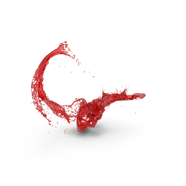 Red Splatter PNG & PSD Images