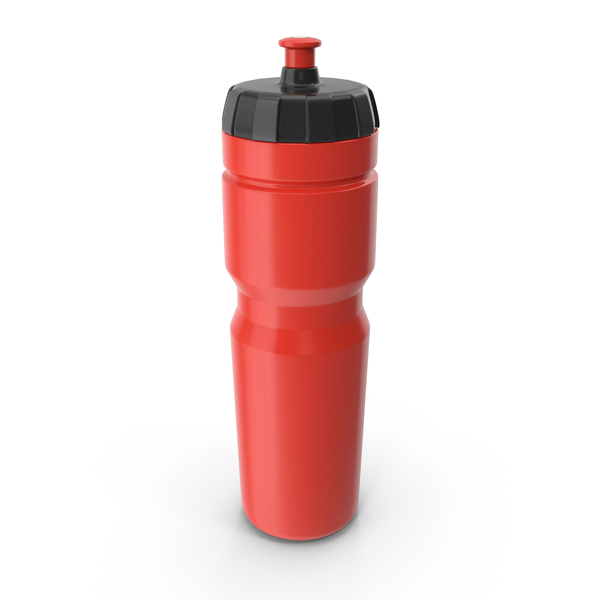 Red Sport Bottle PNG & PSD Images