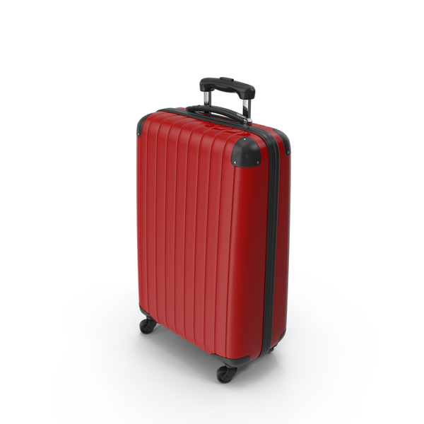 Red Suitcase PNG & PSD Images