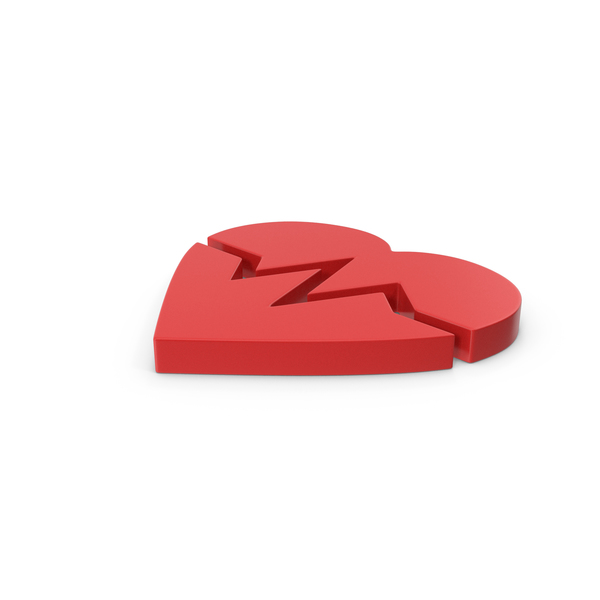 Heart Shaped Candy: Red Symbol Heart Medicine PNG & PSD Images