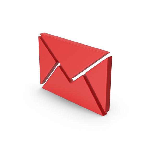Logo: Red Symbol Message PNG & PSD Images