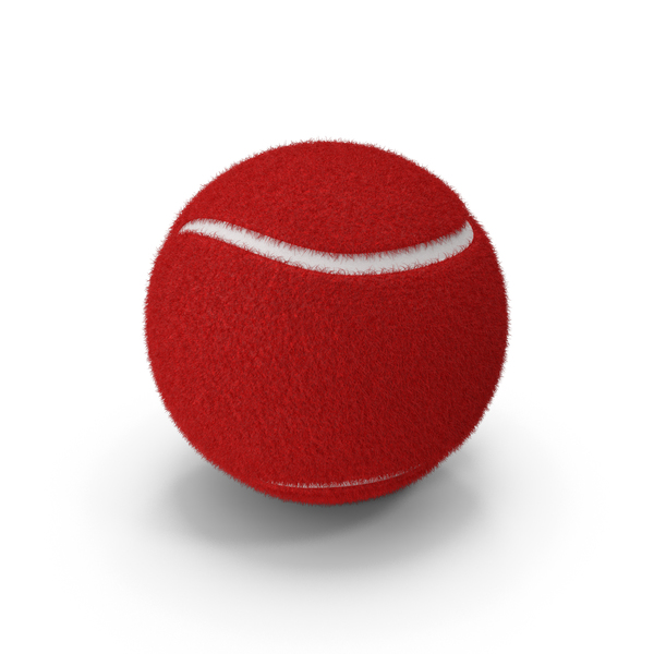 Red Tennis Ball PNG & PSD Images