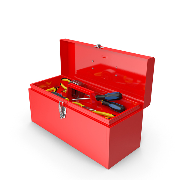 Red Toolbox PNG & PSD Images