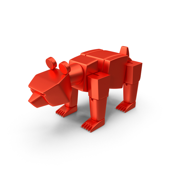 Red Toy Bear PNG & PSD Images