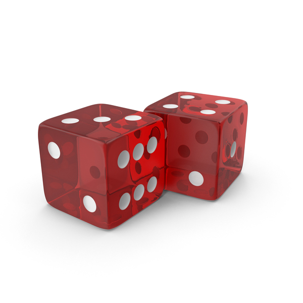 Red Transparent Dice PNG & PSD Images