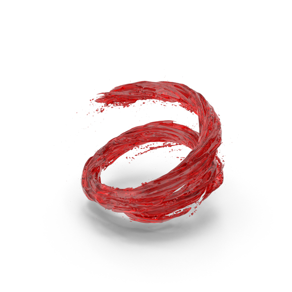 Splash: Red Vortex PNG & PSD Images
