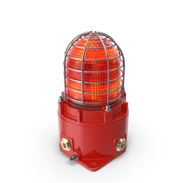 Red Warning Light PNG & PSD Images