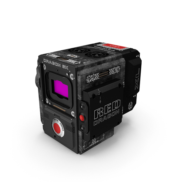 Camcorder: Red Weapon Dragon 6k Body PNG & PSD Images