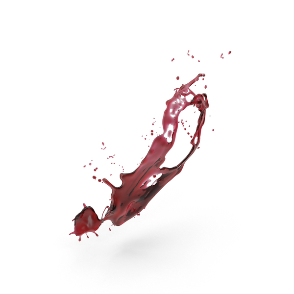 Red Wine Splash PNG & PSD Images