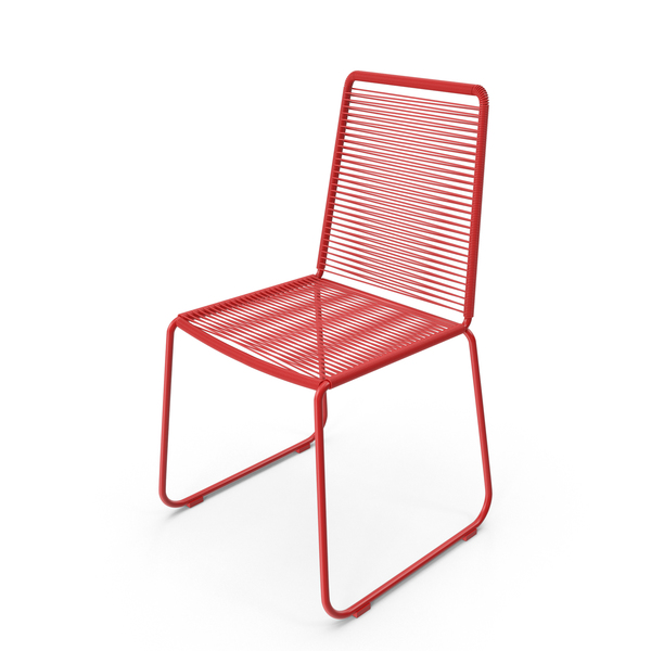 Red Wire Chair PNG & PSD Images