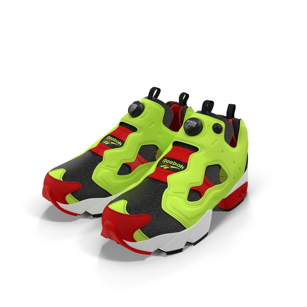 Athletic Shoes: Reebok Pump Fury PNG & PSD Images