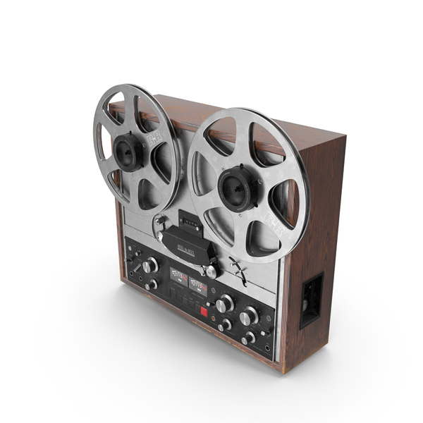 Reel To: Reel-to-Reel Tape Recorder PNG & PSD Images