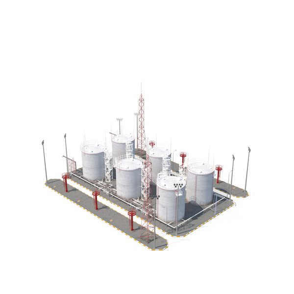 Petroleum: Refinery Zone PNG & PSD Images