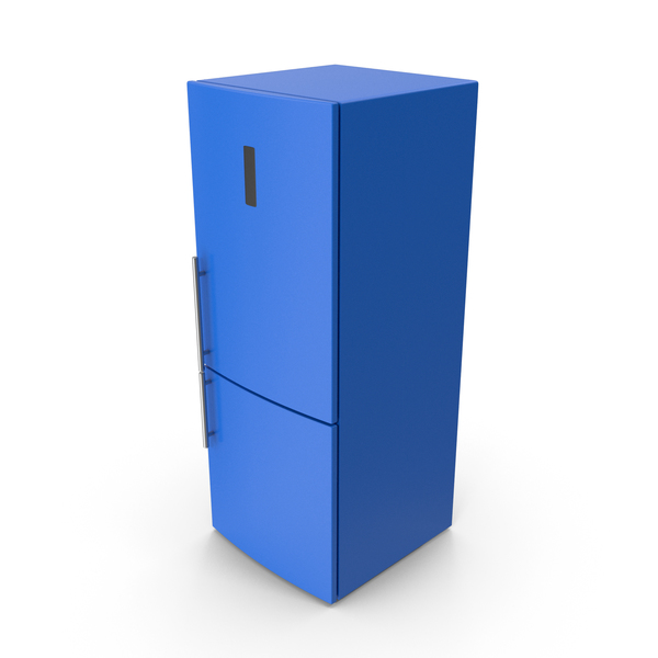 Refrigerator Blue PNG & PSD Images