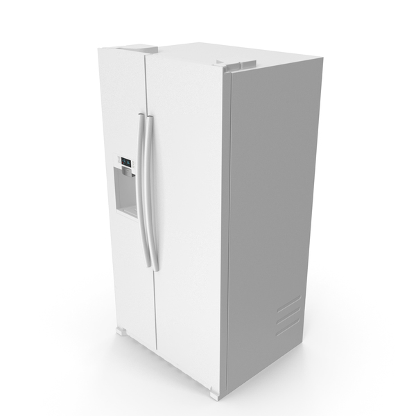 Refrigerator Side By Side Generic PNG & PSD Images