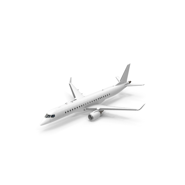Airliner: Regional Jet Retracted Landing Gear PNG & PSD Images