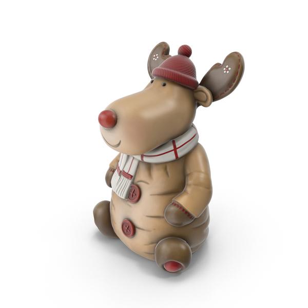 Reindeer Figure PNG & PSD Images