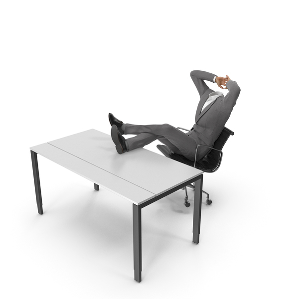 Men's Shoes: Relax Table Chair Suit Grey PNG & PSD Images
