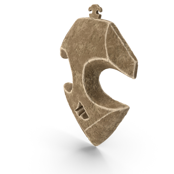 Reliced Stone Pendant PNG & PSD Images