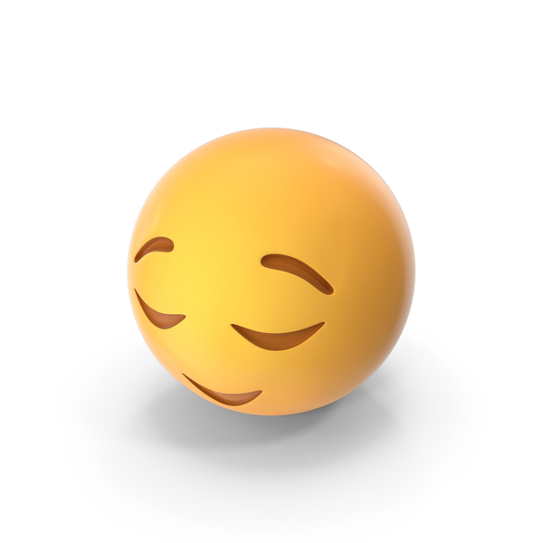 Relieved Emoji PNG & PSD Images