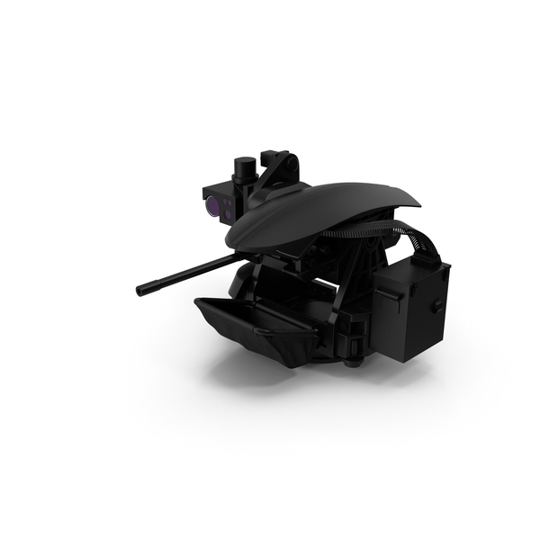 Remotely Controlled 50Cal Machine Gun PNG & PSD Images
