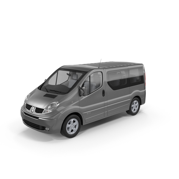 Renault Trafic 2013 PNG & PSD Images