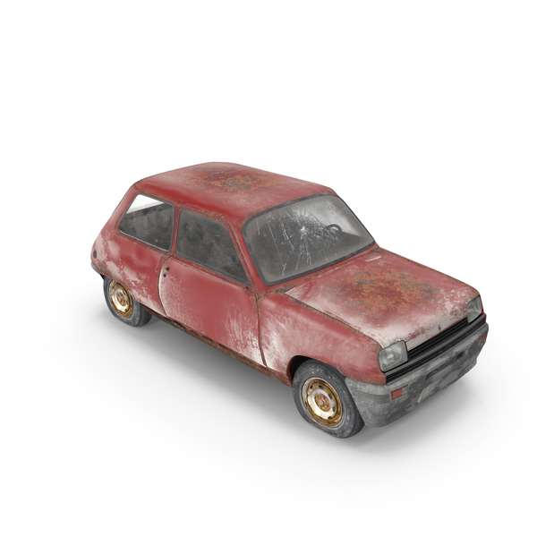 Wrecked Car: Renault PNG & PSD Images
