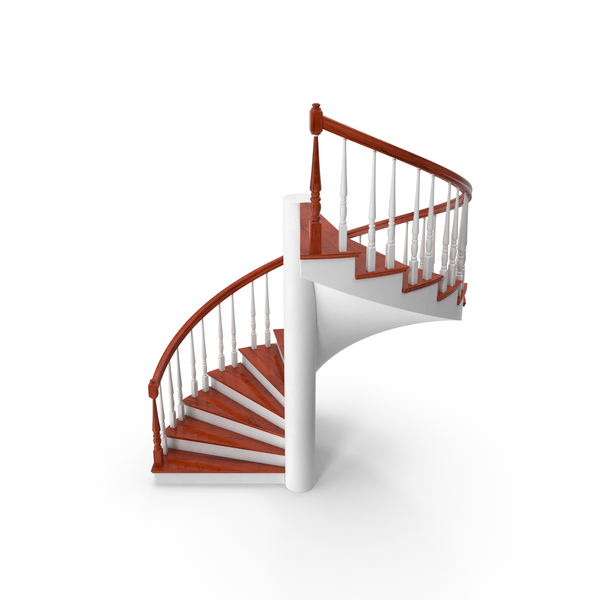 Residential Spiral Staircase PNG & PSD Images