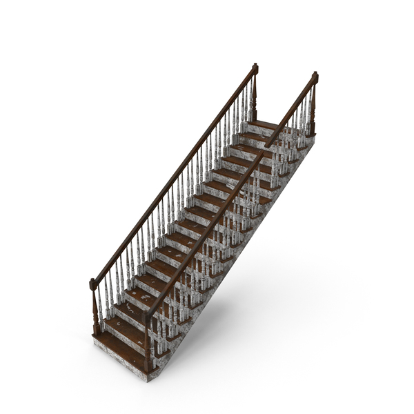Stair: Residential Staircase Dirty PNG & PSD Images