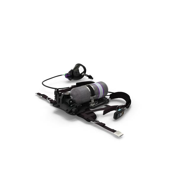 Respiratory Equipment Set PNG & PSD Images